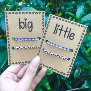 Set of Big and Little Bracelets | Delta Gamma